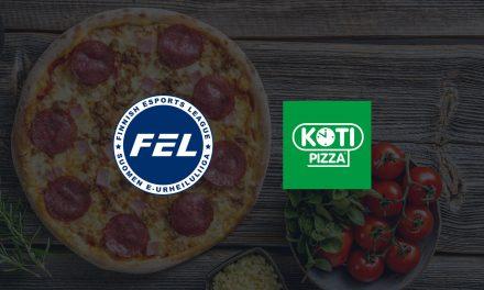 Kotipizza tukemaan suomalaista esportsia – Finnish Esports Leaguelle herkullinen pääyhteistyökumppani