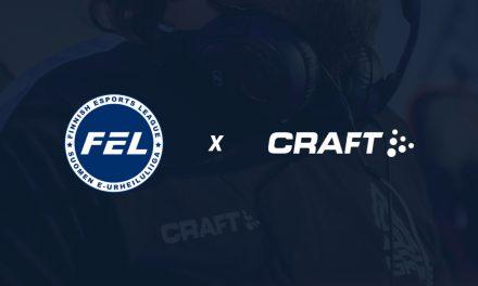 FELin uudeksi pääyhteistyökumppaniksi Craft