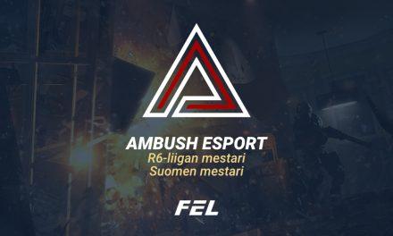 FELin R6-liigan voitto ratkesi: Ambush Esport on Rainbow Sixin Suomen mestari!